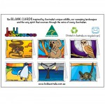 Pack of Six Mixed Australian Animal Greeting Cards