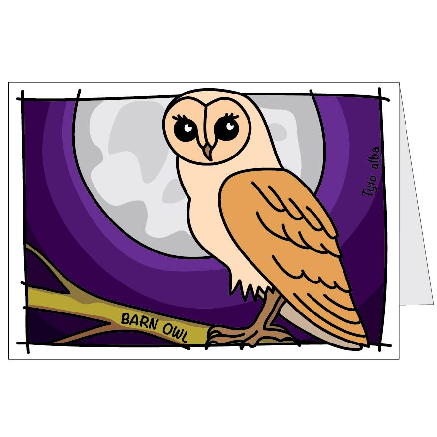 Owl Card Bold Australia