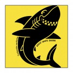 Shark on Yellow T-Shirt