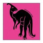 Parasaurolophus Pink