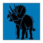 Triceratops Blue